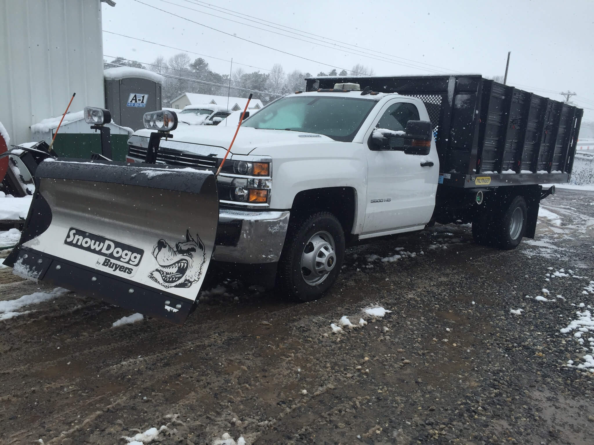 Snow Plows/Salt Spreaders